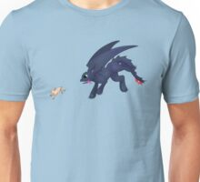 Toothless and the Bunny Unisex T-Shirt