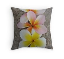 Good Things Come in Three Throw Pillow