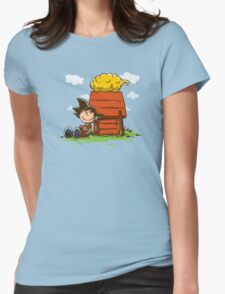 Peanuts Z Womens Fitted T-Shirt