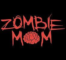 Zombie Mom by DeepFriedArt