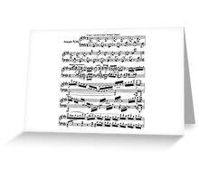 SHEET MUSIC-3 Greeting Card
