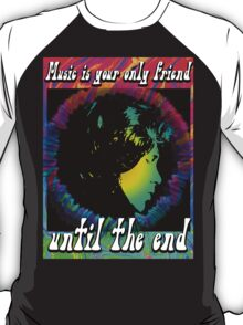 GAUDY KALEIDOSCOPIC POP - Music is your special friend - color T-Shirt