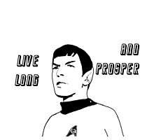 Live Long and Prosper - Spock by VixenTheSecond