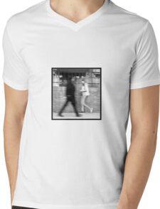 Blurred   Pair Mens V-Neck T-Shirt