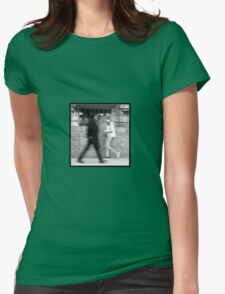 Blurred   Pair Womens Fitted T-Shirt