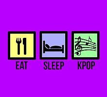 EAT SLEEP KPOP - PURPLE by Kpop Seoul Shop