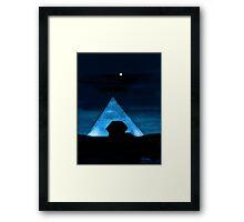 Egyptian Moonlight Framed Print