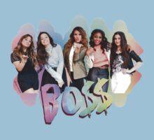 Fifth Harmony Rainbow BO$$ Kids Tee