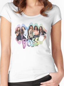 Fifth Harmony Rainbow BO$$ Women's Fitted Scoop T-Shirt