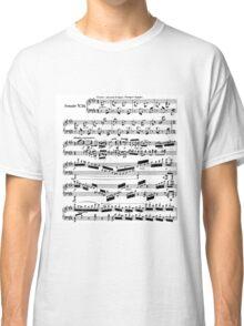 SHEET MUSIC-3 Classic T-Shirt