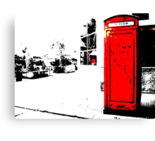 red box Canvas Print