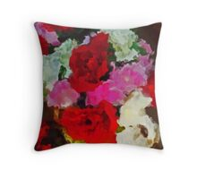 LA VASE  Throw Pillow