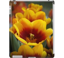 TULIPS ALL IN A ROW iPad Case/Skin