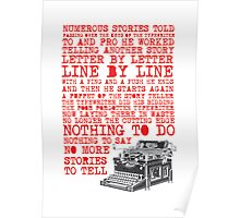 Tale of a Typewriter Poster
