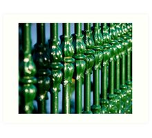 Green Gate Art Print