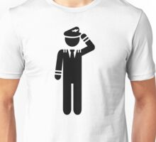 Airplane pilot Unisex T-Shirt