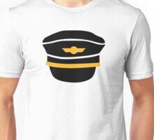 Pilot hat Unisex T-Shirt