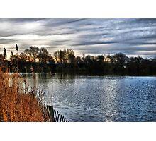 Brickfield Pond Rhyl HDR Photographic Print