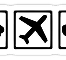 Pilot equipment Sticker