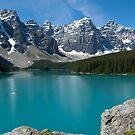 Moraine Lake by Brendan Schoon