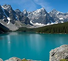 Moraine Lake by Brendan Schoon