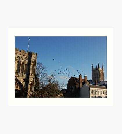 Bury St Edmunds Art Print