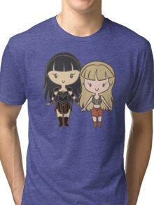 Xena & Gabrielle - Lil' CutiEs Tri-blend T-Shirt
