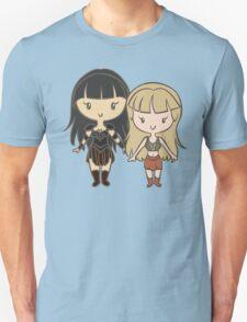Xena & Gabrielle - Lil' CutiEs Unisex T-Shirt