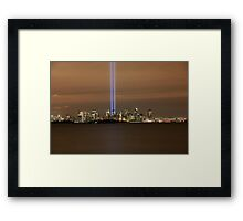 9/11 Memorial New York  Framed Print