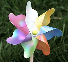 Pinwheel Children's toy photo by JostaBerry