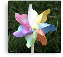 Pinwheel Children's toy photo Canvas Print