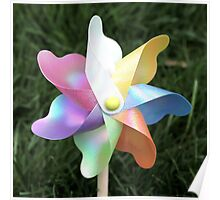 Pinwheel Children's toy photo Poster