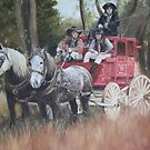 The Old Mail Coach (Cob & Co) by Lyn Green