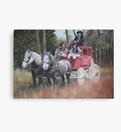 The Old Mail Coach (Cob & Co) Canvas Print