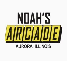 Noah's Arcade Logo Wayne's World by movieshirtguy