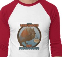 Werewolves, not swearwolves Men's Baseball ¾ T-Shirt