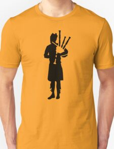 Bagpipe player Unisex T-Shirt