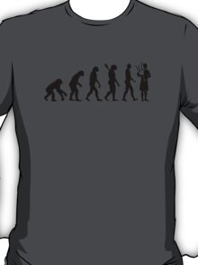 Evolution Bagpipe T-Shirt