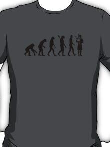 Evolution Bagpipe T-Shirt