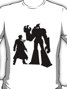 Colt and Petey, Crimefighters (Black) T-Shirt