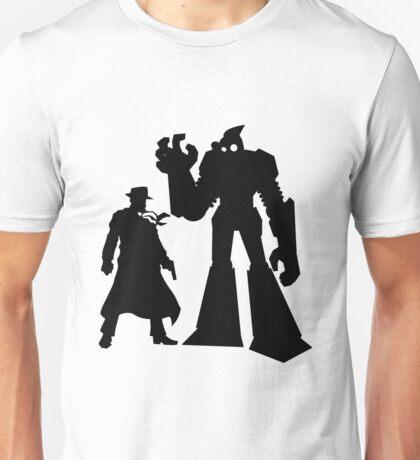 Colt and Petey, Crimefighters (Black) Unisex T-Shirt
