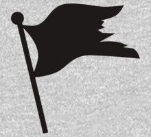 Black pirate flag One Piece - Short Sleeve