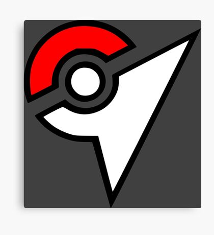 Pokemon - Gym Logo Canvas Print