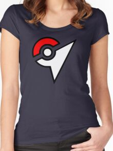 Pokemon - Gym Logo Women's Fitted Scoop T-Shirt