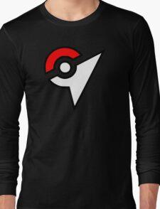 Pokemon - Gym Logo Long Sleeve T-Shirt