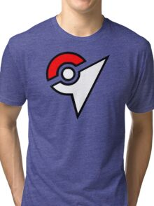 Pokemon - Gym Logo Tri-blend T-Shirt