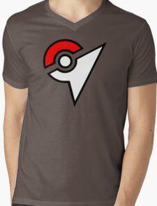 Pokemon - Gym Logo Mens V-Neck T-Shirt