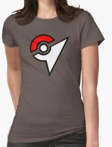 Pokemon - Gym Logo Womens Fitted T-Shirt