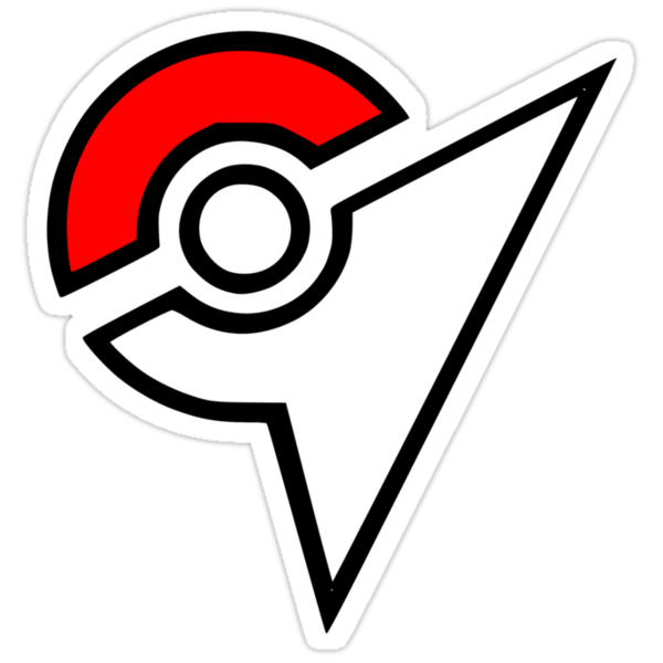 14307401 Pokemon Gym Logo P Sticker
