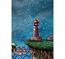 Date Night at the Museum Lighthouse Photographic Print